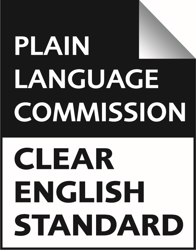 Plain accreditation badge